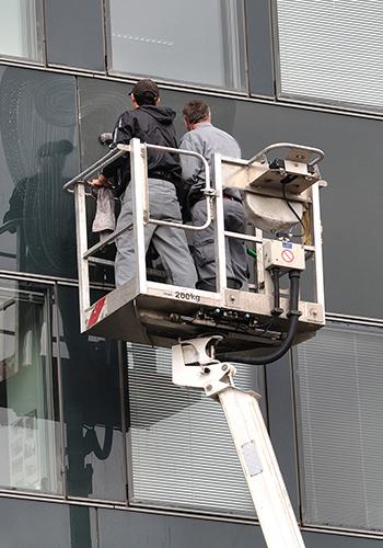 diesnox Gebäudeservices Glasreinigung Fassadenreinigung München